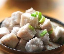 葱香荔浦芋头
