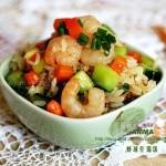 虾球什锦饭(早餐食谱)