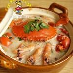 潮洲海鲜粥(早餐食谱)