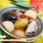 栗子红枣小排汤(滋补汤水)