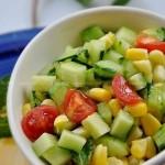 田园蔬菜沙拉(减肥食谱)