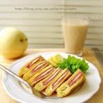 火腿西多士(早餐食谱-港式小食)