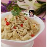 鸡汁百叶结(江南菜)
