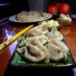 羊肉白萝卜水饺(早餐食谱-三下挤压式包饺子法)