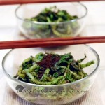 黑芝麻拌菠菜(凉拌菜)