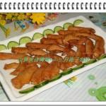 山黄皮卤鸭翅(荤菜)
