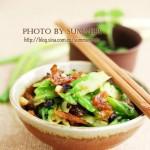 豆豉鲮鱼炒苦瓜的做法