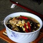海带炖黄豆的做法