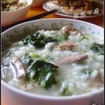 菠菜鸡肝生滚粥(早餐食谱)