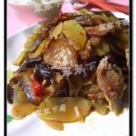 干锅青笋腊肉(干锅菜)