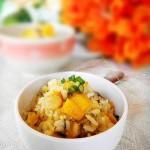 干贝南瓜焖饭(早餐食谱-改良版闽南焖饭)