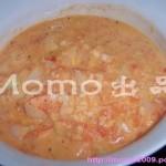 茄汁洋葱虾(荤菜)