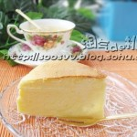 柠檬芝士蛋糕(早餐食谱-香滑绵软)