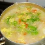 西红柿疙瘩汤(早餐食谱)