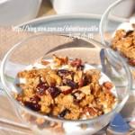 酸奶燕麦坚果脆(1分钟的早餐食谱)