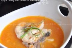 西红柿鱼片汤
