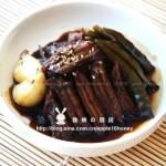 韓式醬牛肉(涼菜)