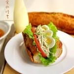 香芹鸡肉快艇三明治(早餐食谱)