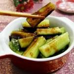 蘸酱腌黄瓜(素菜)