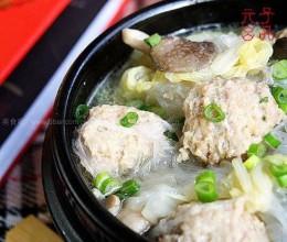 白菜丸子锅