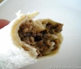 鹿肉版墨西哥卷饼