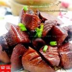 红润毛笋肉(荤素搭配)