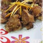 甘香陈皮排骨(荤菜)