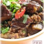 潮式方鱼肉末烧茄(潮州菜)