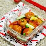 韩式辣牛肉丸(适合做便当的菜)
