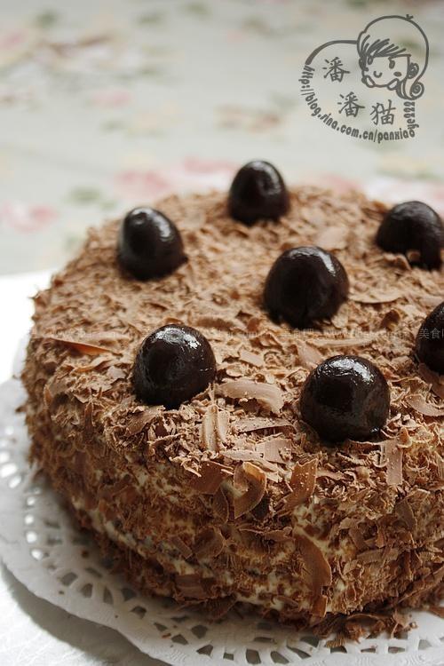 黑森林蛋糕(早餐食谱)的做法步骤