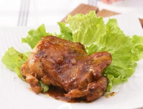 黑椒鸡腿(中式家庭简约版的万用黑椒汁)