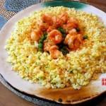 虾仁炒饭(早餐食谱)