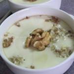 核桃鸡蛋布丁(养发甜品)
