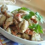 黑椒螃蟹(东南亚的黑胡椒味儿)
