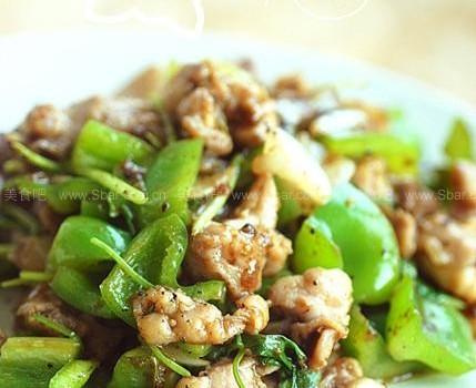 黑椒鸡丁(东南亚的黑胡椒味儿)