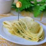电饼铛葱花鸡蛋薄饼(电饼铛食谱)