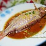 清蒸红金鱼(清蒸菜)