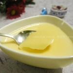 鲜奶布丁(自制甜品)