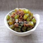 肉末芹菜(荤素搭配)