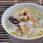 鲜菇红枣鸡汤(营养汤水)