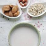 杏仁芡实薏仁浆(早餐食谱-豆渣美容面膜)
