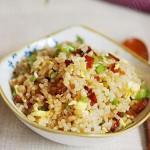 腊肉炒饭(早餐食谱)