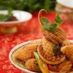 甜辣鱿鱼(海鲜家常菜-给海鲜去腥的办法)