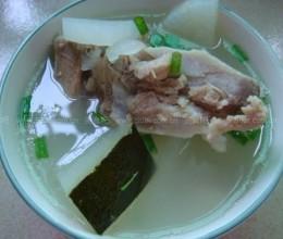 冬瓜萝卜排骨汤