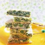 茼蒿鸡蛋饼(早餐食谱)