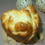 心形花朵面包(早餐食谱)