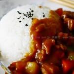 咖喱鸡腿饭(早餐食谱)