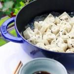 香煎芹菜馄饨(早餐食谱)