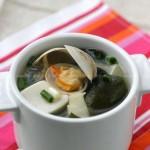 海带豆腐蛤蜊汤(海带汤)