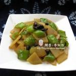 豆豉青椒土豆片(素菜)